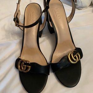 Gucci Marmont Sandal Block heels